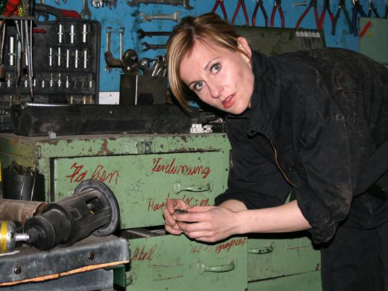 Garage-Pics Schauspielerin
